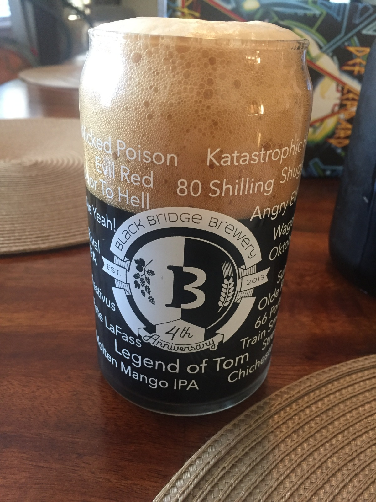In Review of A Beer: Legend of Tom by Black Bridge Brewery